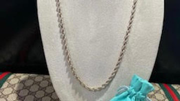 Tiffany & Co Rope Chain
