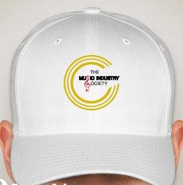 White MIS Logo Cap