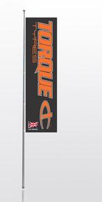 Torque Nylon Flag