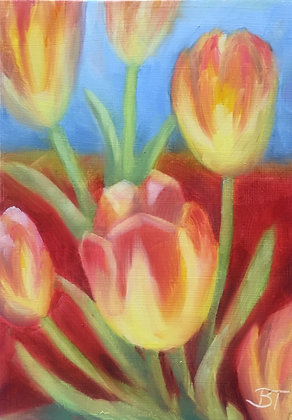 """Spring Tulips"""