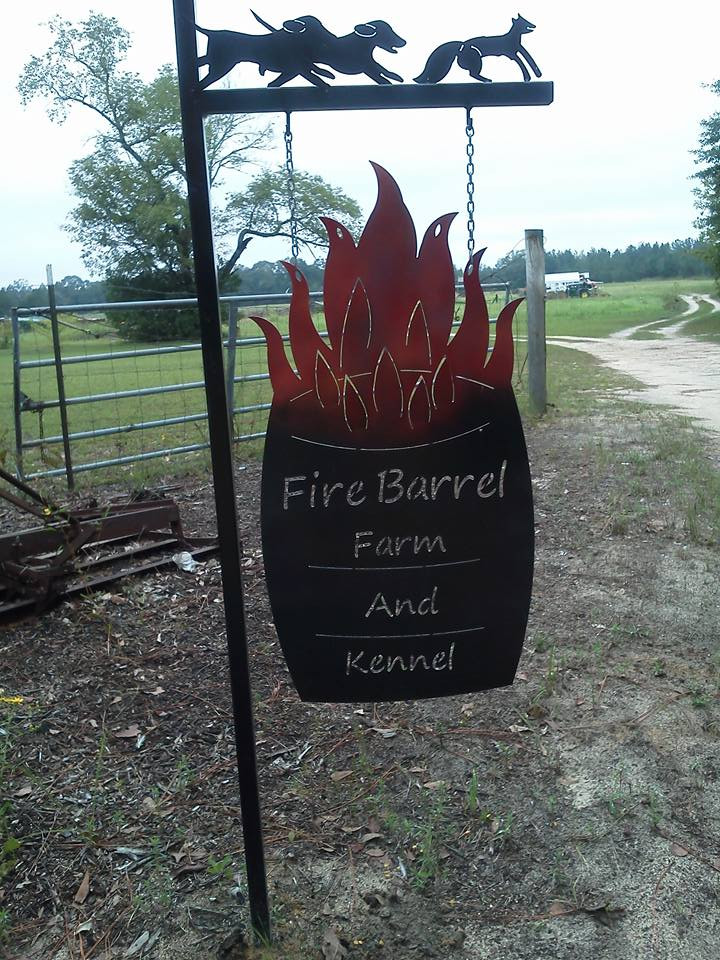 Logo for Fire Barrel Farm and Kennel
