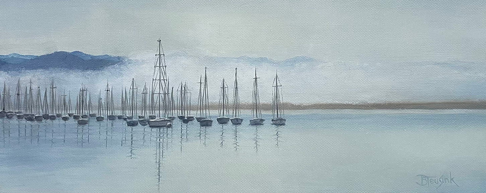 "Painting: ""Morro Bay"" by Barbara Teusink"