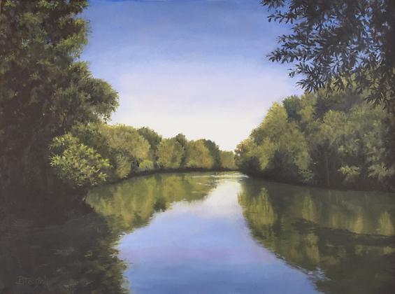 """Saluda River View"""