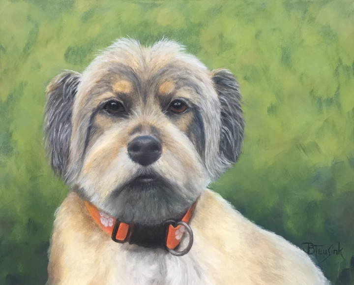 "Painting: ""Grady"" by Barbara Teusink"
