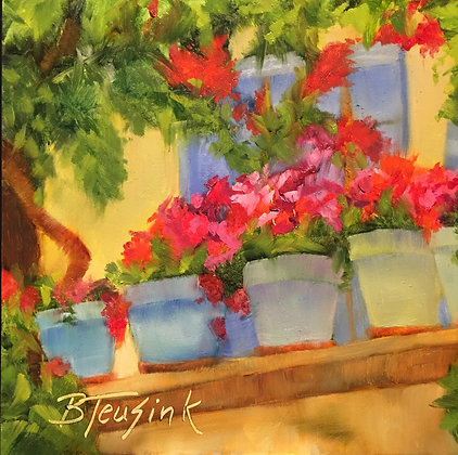 """""""Front Row Seats in France"""" (Study of Dreama Tolle Perry)"""
