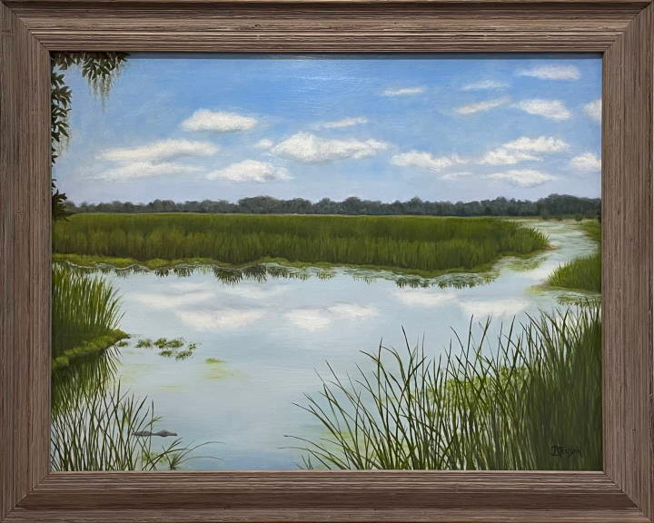 "Original Oil painting: ""Southern Serenity"" by Barbara Teusink"