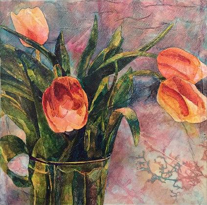 """""""Textured Tulips"""""""