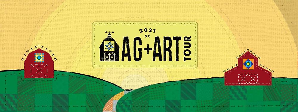 Logo for 2021 Ag+Art Tour