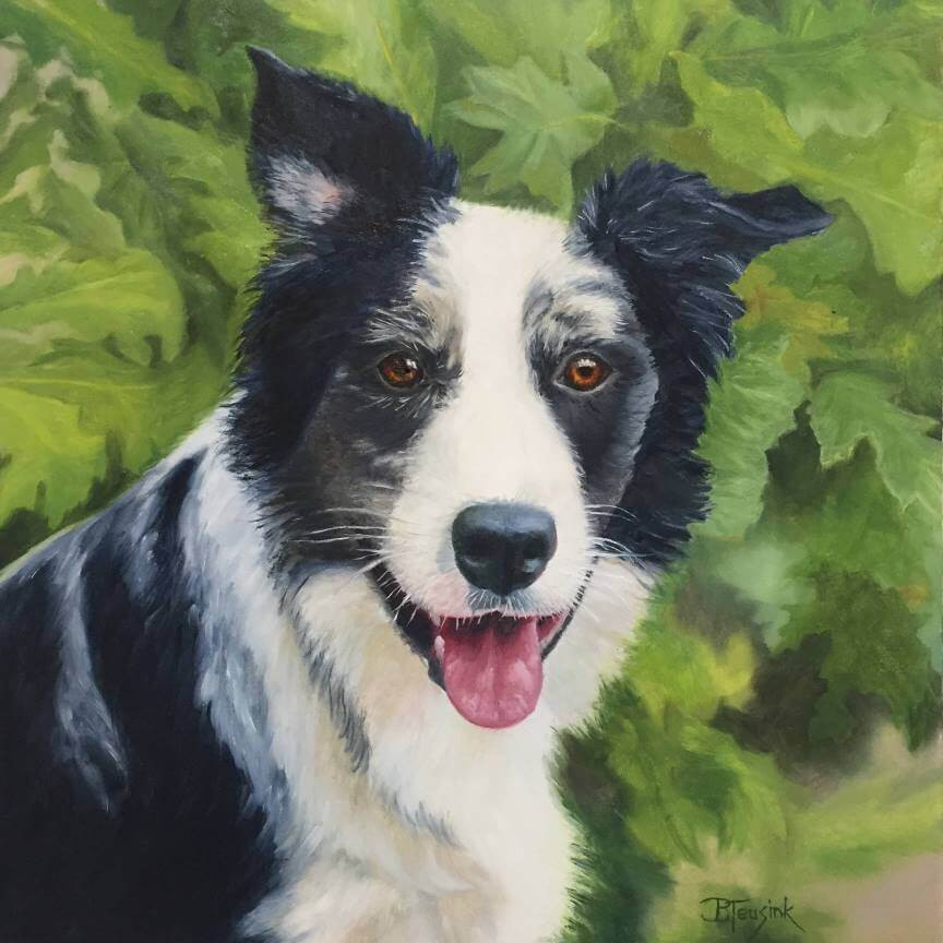 "Oil Painting ""Tivo"" by Barbara Teusink"
