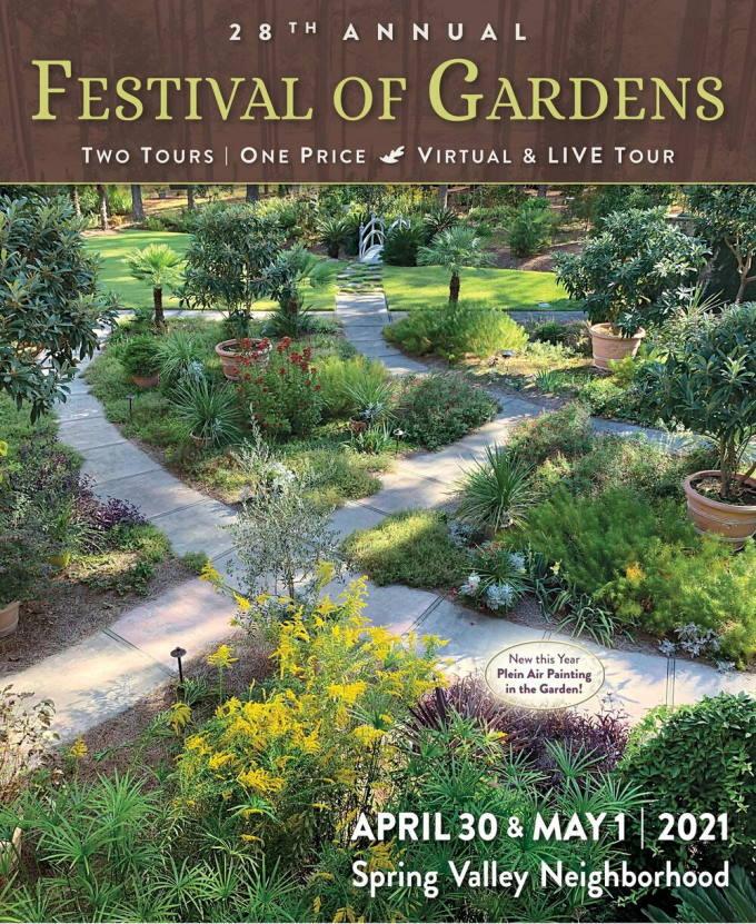 Poster for the Festival of Gardens