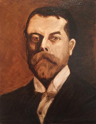 """""""John Singer Sargent"""" (Study of Sargent Self Portrait)"""