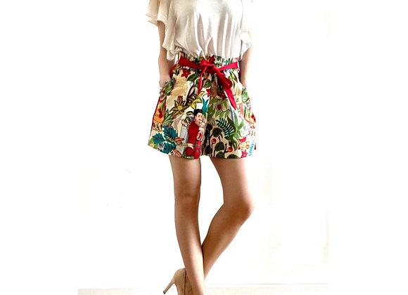 Shorts FRIDA red