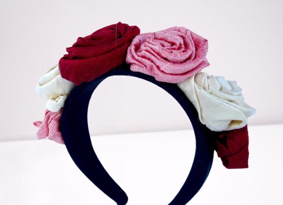 Cerchietto rose