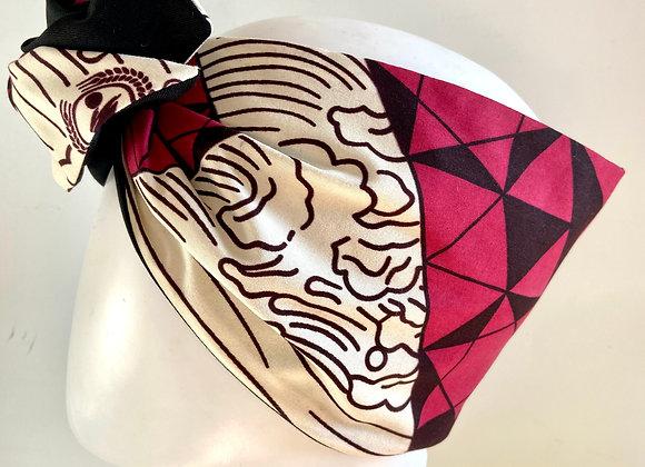 Fascia turbante geometrical