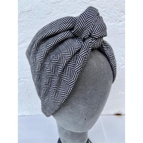 Fascia nodo in lana