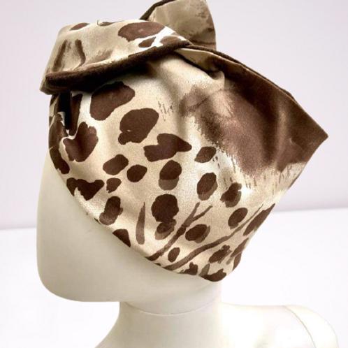 Fascia turbante Brown