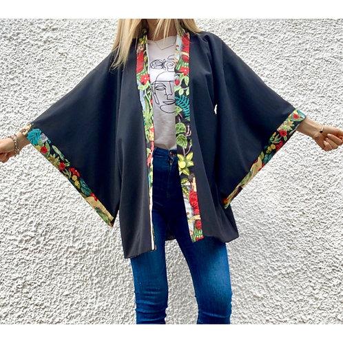 Kimono in misto lana