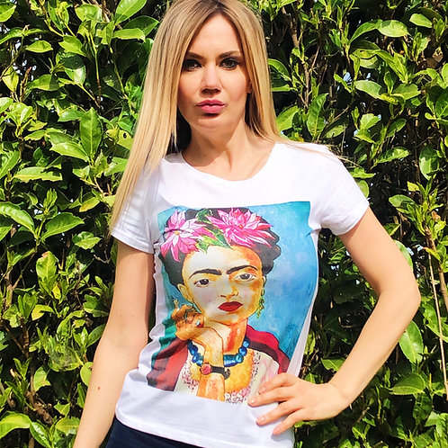 T-shirt Frida smoke