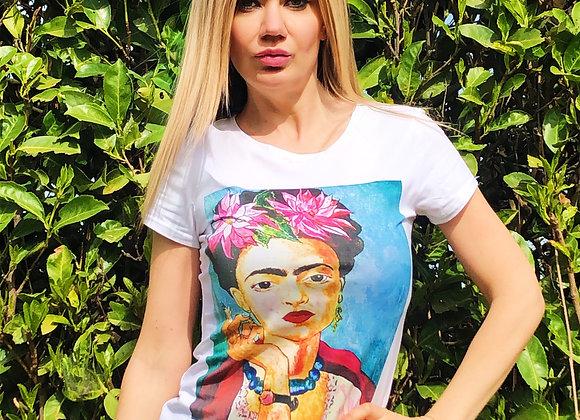 T-shirt Frida smoke