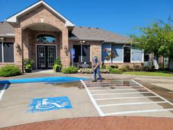 True Stripe Parking Lot Services _ Pressure Washing _ Parking Lot Striping _ Lufkin, Texas _ Lake Ch