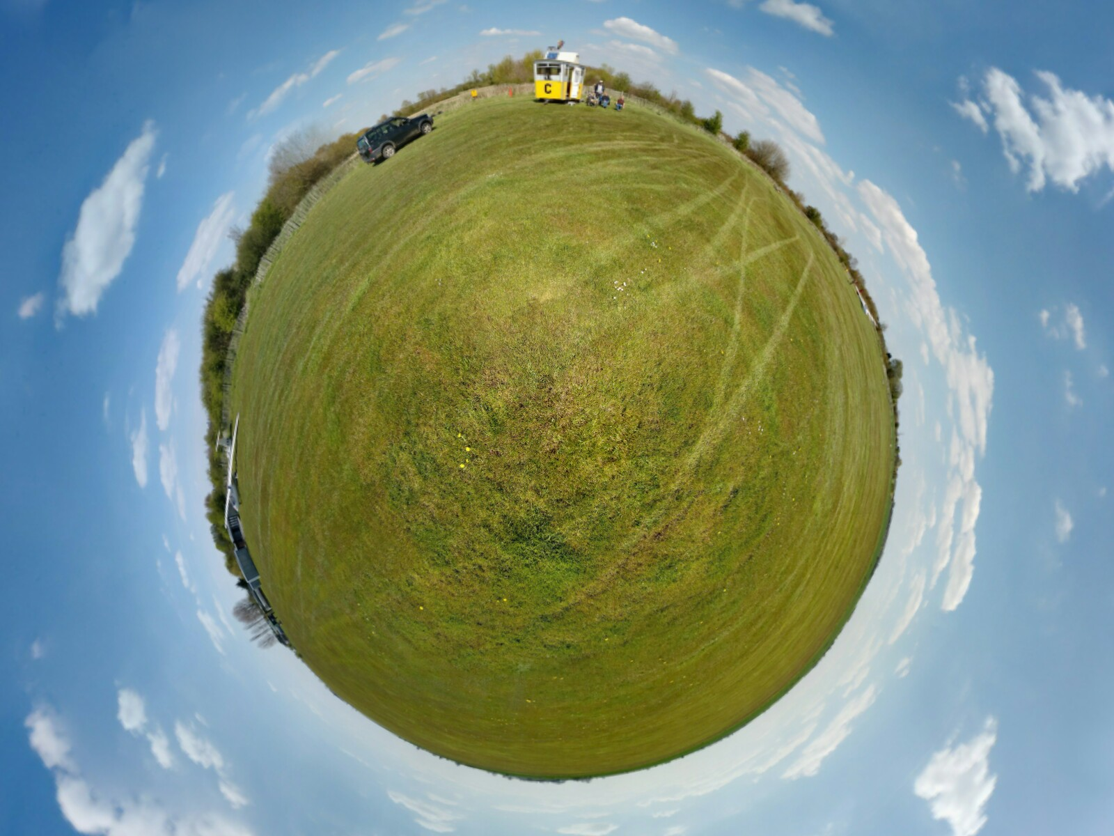 Planet Ridgewell airfield