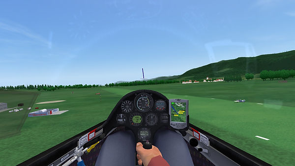 Condor The Competition Gliding Simulator - Airfield Beatup