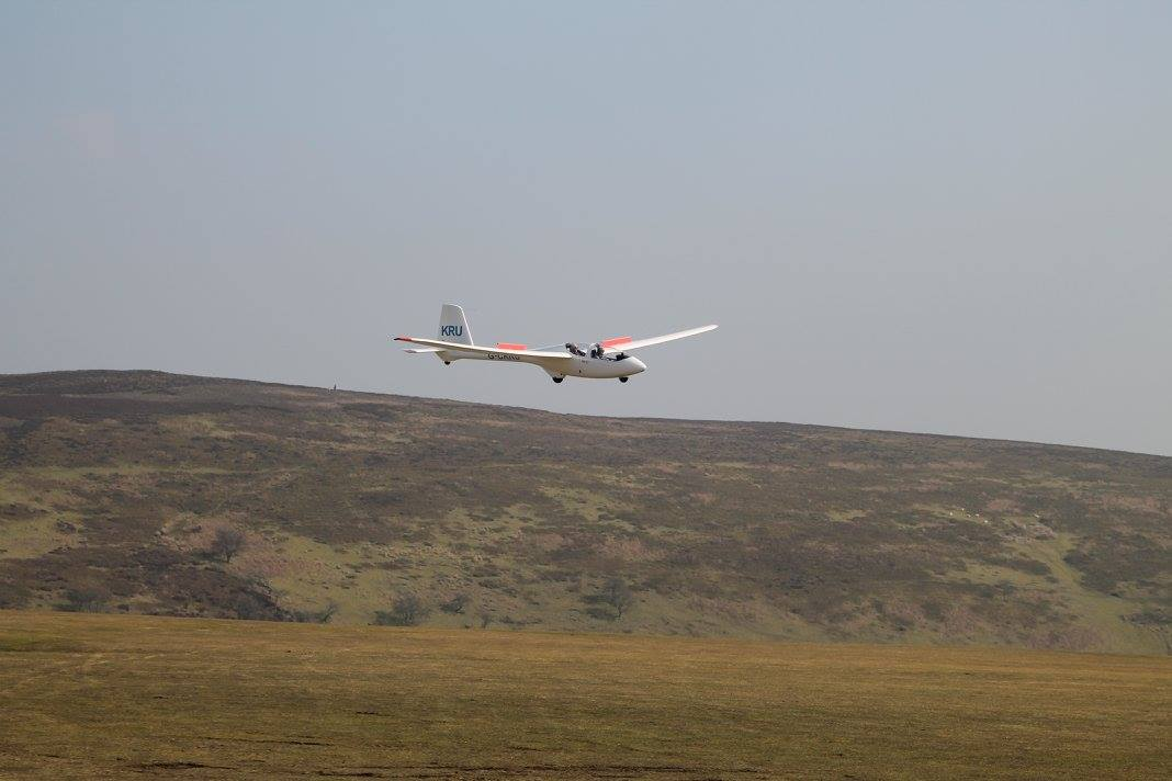 One of our PW6 gliders - Long Mynd