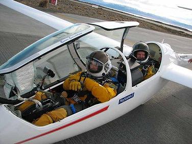 Steve Fossett, spacesuit, altitude record
