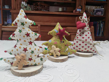 Unos arbolitos de Navidad
