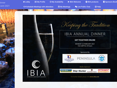 First IBIA Annual Dinner Online