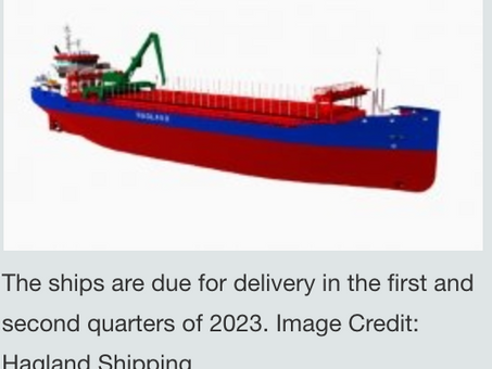 Battery powered bulk carrier