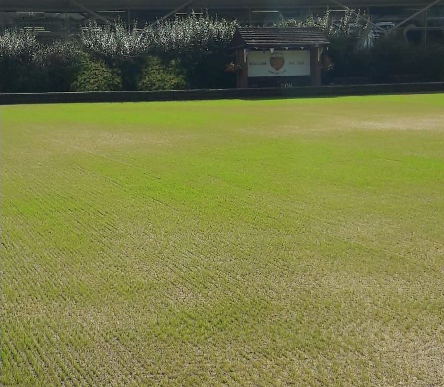 Ilminster Bowling Club Green Re Surface