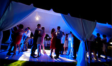 Tent Wedding With Uplighting 2014