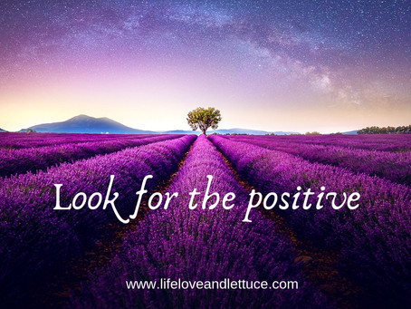Look for the Positive!