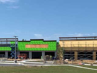 The Shops at Garrett Creek Rapidly Taking Shape in Owasso
