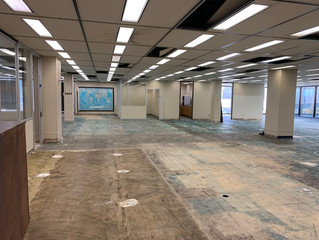 WORK HAS STARTED FOR THE TULSA COUNTY RAY JORDAN BUILDING RENOVATION!