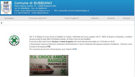 Comune di Bubbiano 2021_05_01