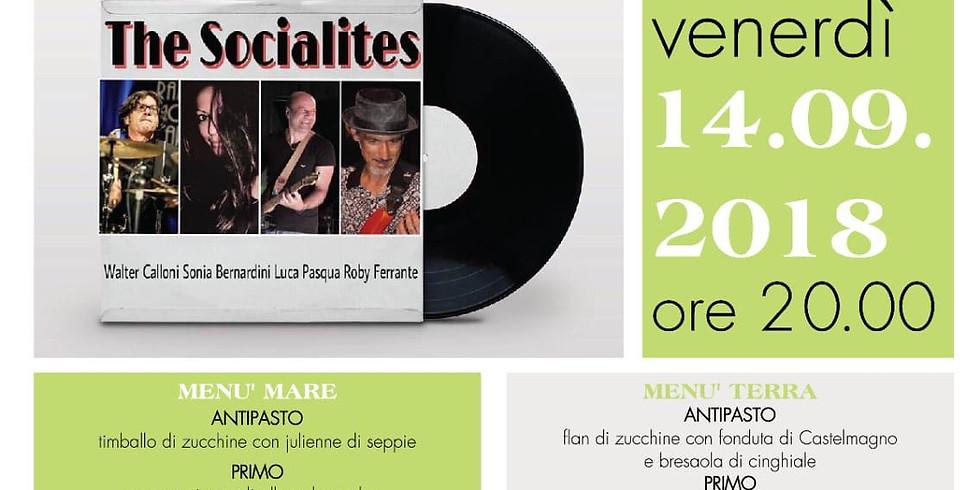 14.09.18 Ristorante Oasi Verde - Cena con Walter Calloni & The Socialites a sostegno di Croce Amica