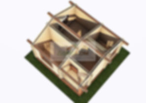 Домокомплект дома из двойного бруса