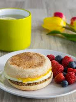TURKEY ENGLISH MUFFIN