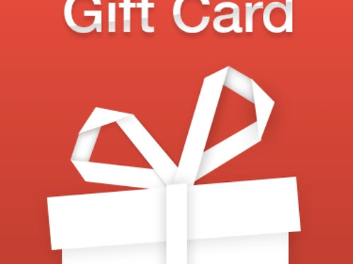 NEW GIFT CARD OPTION FOR THE HOLIDAYS