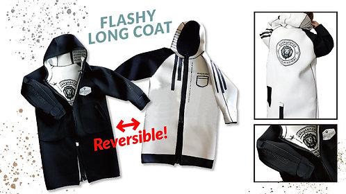FLASHY LONG COAT (reversible)