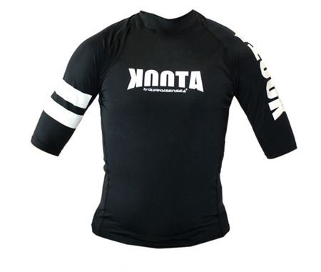 KOOTA RASHGUARD (SHORT)(BLACK)