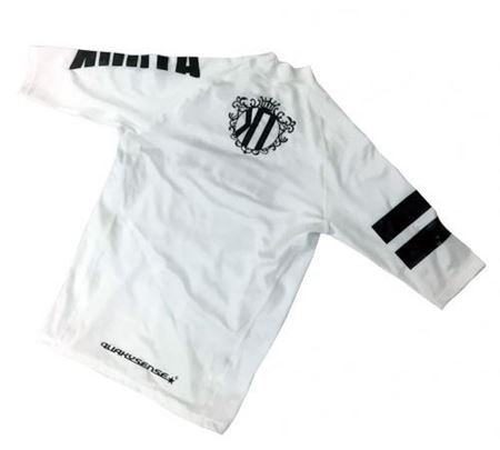【JUNIOR】KOOTA RASHGUARD (SHORT) (WHITE)