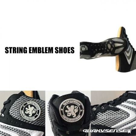 STRING EMBLEM SHOES