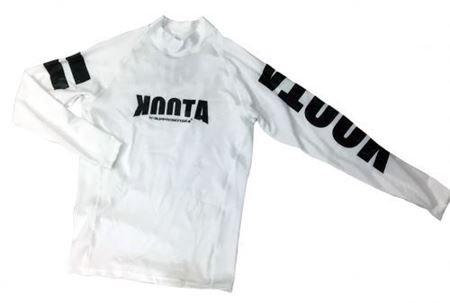 KOOTA RASHGUARD (LONG)(WHITE)