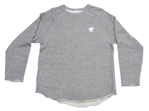 KOOTA URBAN CUT OFF SWEAT SHIRT (GRAY)
