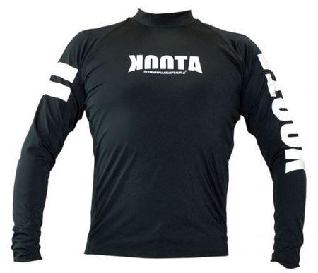 KOOTA RASHGUARD (LONG)(BLACK)