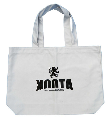 KOOTA CANVAS BIG TOTE (GRAY)