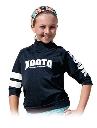 【JUNIOR】KOOTA RASHGUARD (SHORT) (BLACK)